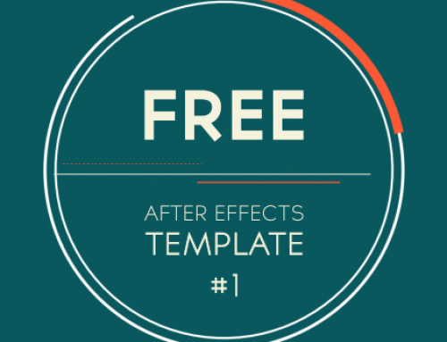 Free After Effects Template #1: 2D Logo Introduction / Transition