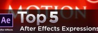 Top 5 After Effects Expressions